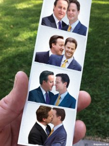 The coalition government - mismatch pair!