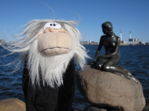 This statue is on the waterfront of Copenhagen.