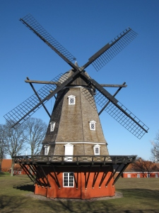 The windmill was built in 1847.
