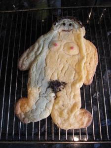 I enjoyed decorating my fat lady.