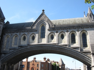 Christ Church is one of two cathedrals in Dublin.
