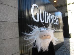 Me outside the gates of Guinness Storehouse.