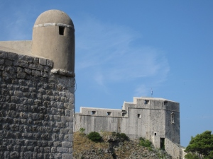 The fortifications of Dubrovnik.