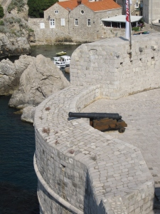 The fortifications of the old town.