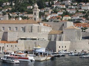 Dubrovnik harbour.