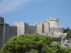 Near the end of my walk is Minčeta Tower.