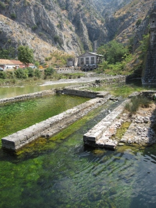 The water works of Kotor.