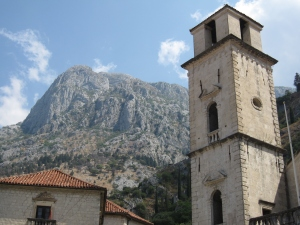 The hilltops surrounding the Old Town.