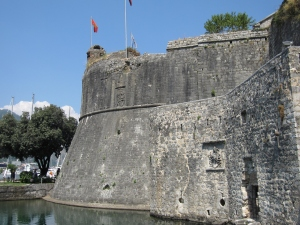 The walls of the Old Town.