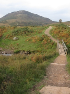 The path up to Conic Hill.