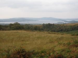 My first view of Loch Lomond.