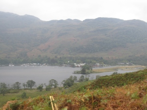 The last sight of Loch Lomond.