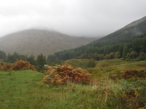 Looking back on Tyndrum.