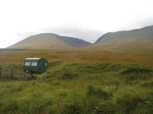 This caravan was in the middle of nowhere!
