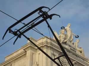 Lisbon is famous for it trams.
