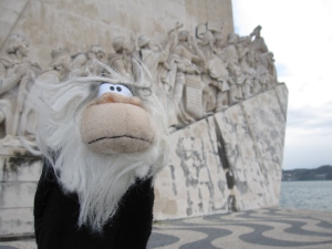 I was glad to have my photo taken at this World Heritage Site.