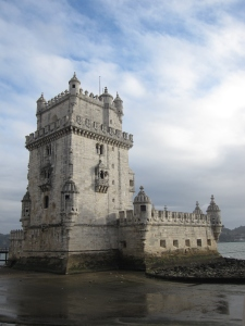 The tower defends the entrance to the port.