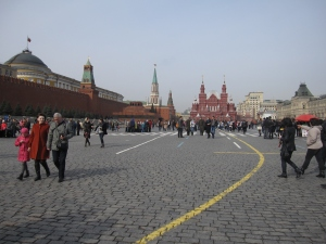 The Red Square is the heart and soul of Russia.