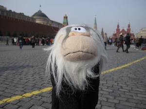 Me in the Red Square.