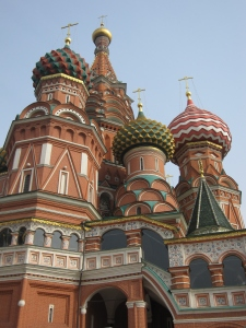 The Cathedral of Vasily the Blessed, commonly known as Saint Basil's Cathedral.