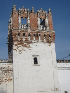 A tower on the walls of the convent.