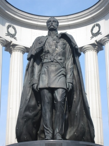 This is the second monument to Alexander II.