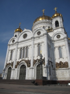 The newly rebuilt Cathedral of Christ the Saviour.