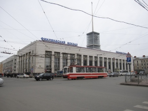 Finland Station where Lenin returned from exile in 1917.