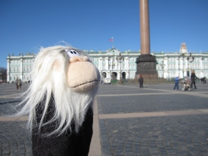 Me at the Hermitage.