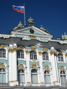 The entrance to the Winter Palace.