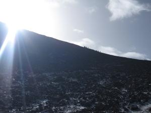 The Tizi'n'Toubka col at 3,940 metres.