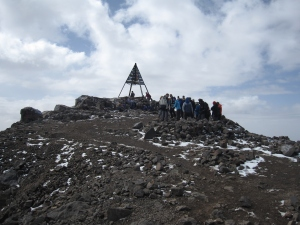 The summit is reached.