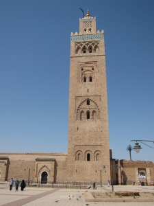 Koutoubia Mosque is the largest mosque in Marrakesh.