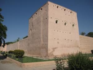 The walls were impressive.