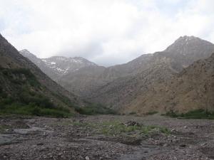 The floodplain just beyond Aroumd village.