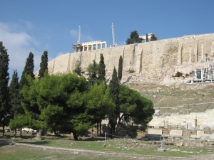 Acropolis of Athens is a World Heritage Site.