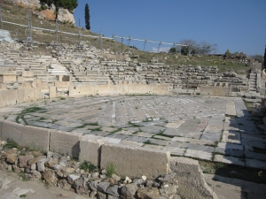 The Theatre of Dionysus is an open-air theatre and one of the earliest preserved in Athens.