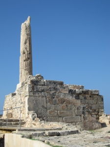 This temple is dated from 600 B.C.