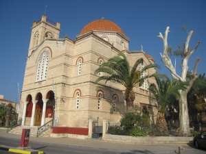 The cathedral of Saint Nectarios of Aegina.