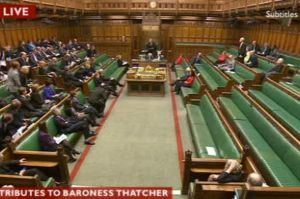 Only four Labour MPs bother to turn up!
