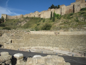 A well preserved Roman theatre that is still in use today.