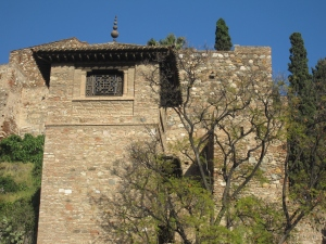 The Alcazaba of Malaga is well preserved.