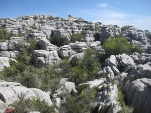 El Torcal Nature Reserve is famous for it rock formations.