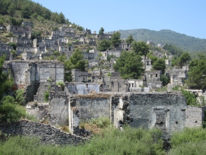 The abandoned village.