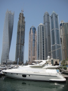 Dubai Marina is a residential district.