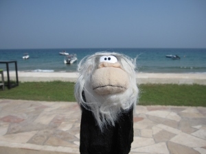 Me posing in the resort of Fujairah.