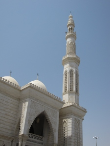 The main mosque in Al Ain.