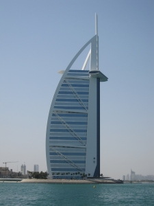 This is the fourth tallest hotel in the world.