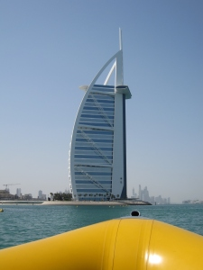 The Burj Al Arab hotel is the world's only 7 star hotel.