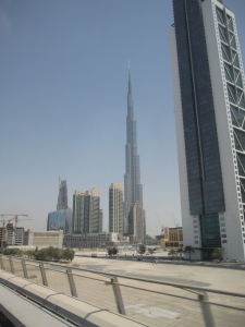 The world's tallest building.